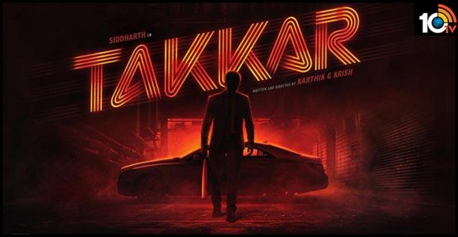 Title Poster of Siddharth's TAKKAR
