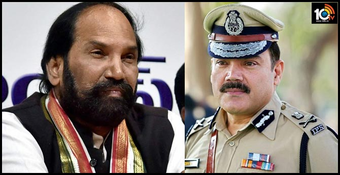 Uttam Slams Commissioner Anjani Kumar Yadav For not Allowing Into Gandhi Bhavan