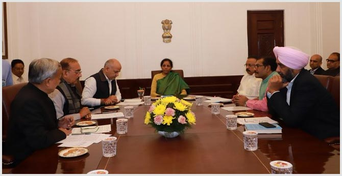 "We Feel Embarrassed"": States To Nirmala Sitharaman Over GST Compensation"