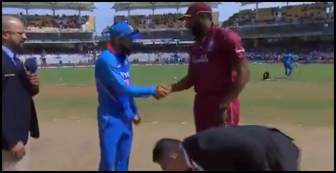 West Indies have won the toss and have opted to field