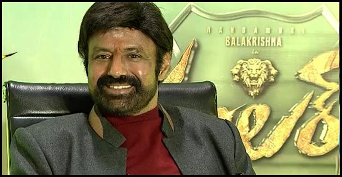 balakrishna about his getup in ruler movie