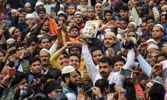 Bhim Army's Chandrashekhar Gives Cops The Slip At Delhi's Jama Masjid