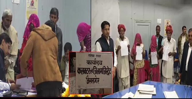 camp organised in jaisalmer to help refugees from pak complete formalities to avail indian citizenship/
