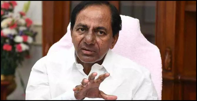 cm kcr gives jobs for family members who died in strike
