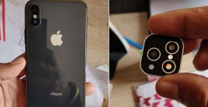 customer gets fake i phone
