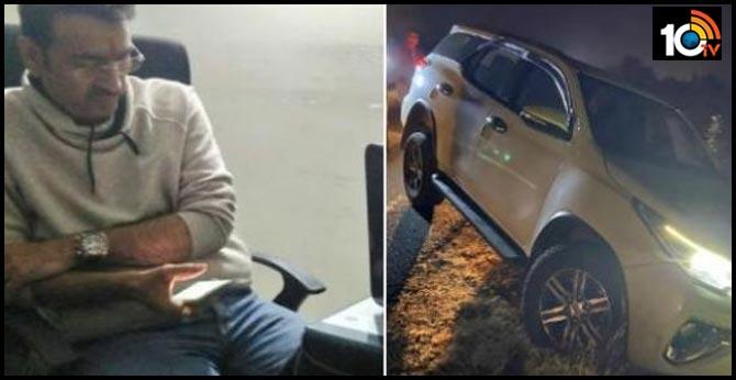 fired at Nagpur mayor's car