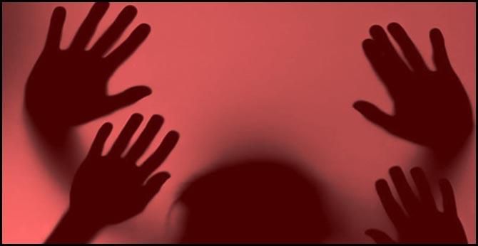 indecent behavior towards a young woman in banjara hills