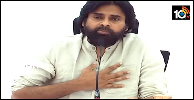 janasena chief pawan kalyan on 3 capital issue