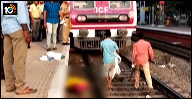 new couple dies as mmts hits in chandanagar