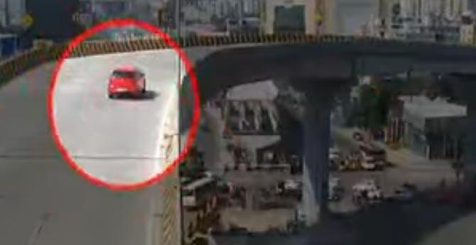 new twist in gachibowli flyover accident case