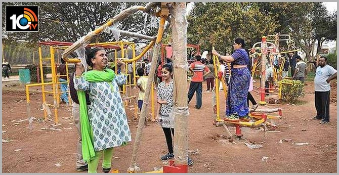 open gyms to come up in hyderabad parks