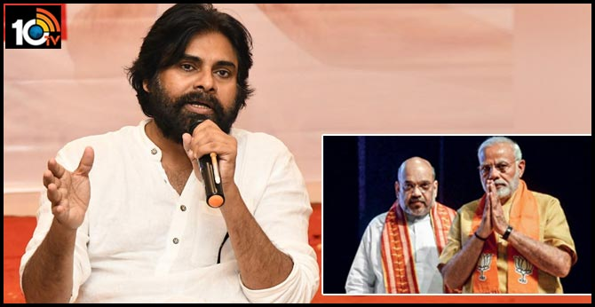 pawan kalyan sensational comments on modi, amit shah