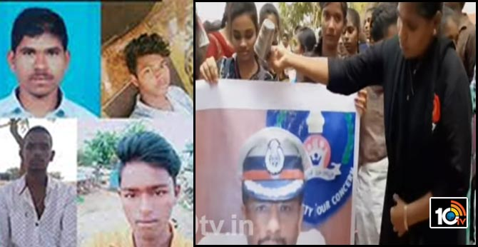 disha accused encounter : praise on CP Sajjanar