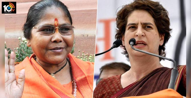 priyanka gandhi should change her name to feroze priyanka sadhvi niranjan jyoti
