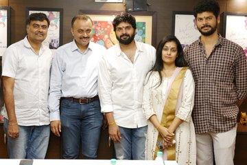 Sree Vishnu's new film Launched formally