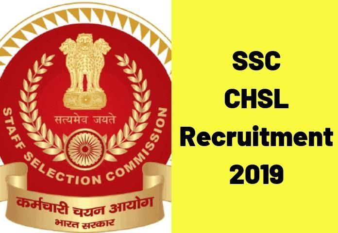 SSC CHSL 2020 Notification (Out), Exam Dates, Application