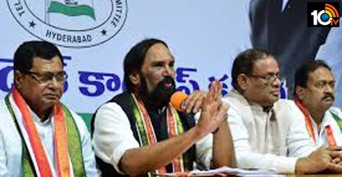 telangana congress leaders agree defeat in municipal polls
