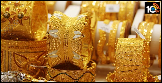 10 grams 22-carat gold in hyderabad down by rs.1000