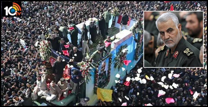 32 Dead In Stampede At Funeral Of Iran General Killed By US: Report