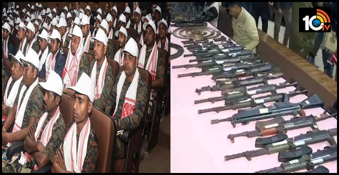 644 terrorists surrendered in Assam
