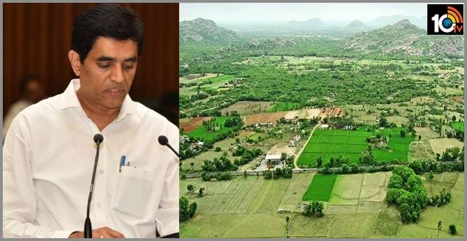 AMARAVATHI insider trading details told by minister buggana