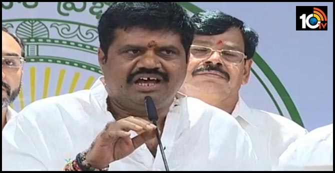 AP Minister Avanti Srinivas fires over Chandrababu