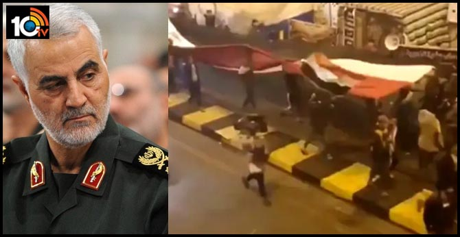 """US Shares Video Of Iraqis """"Dancing"""" After Iran Military Official Killed"""