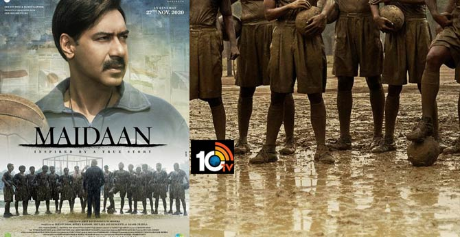 Ajay Devgn Unveiling the first look of Maidaan