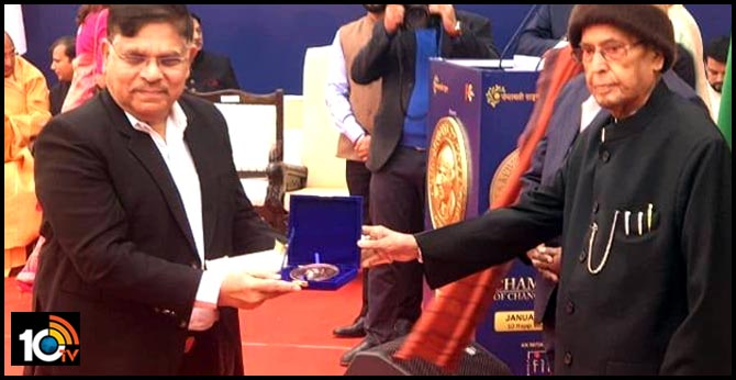 Allu Aravind is the winner of Champions of Change award