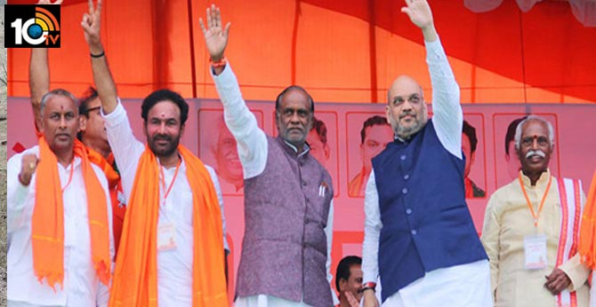 Confusion over No one Telangana BJP leaders to contest in Municipolls