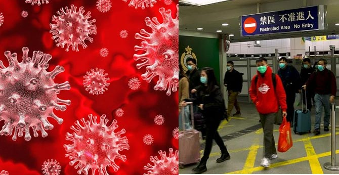 Coronavirus: World countries Srilanka, EU Restrict and Suspends Entry of Visa for Chinese Nationals after first case of coronavirus
