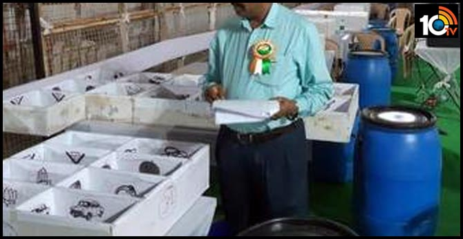 Telangana Civic Polls Counting Karimnagar Corporation