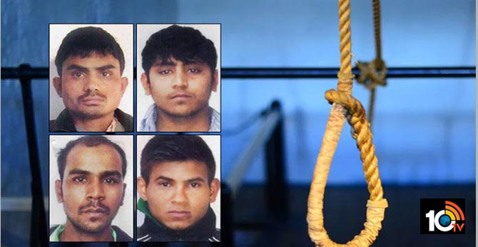 Death warrant issued for Nirbhaya rapists, to be hanged on January 22ND