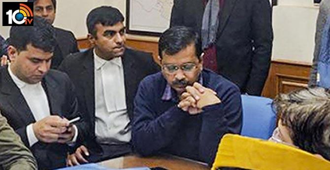 Delhi Elections 2020:  After Waiting Over 6 Hours, Arvind Kejriwal Files Nomination