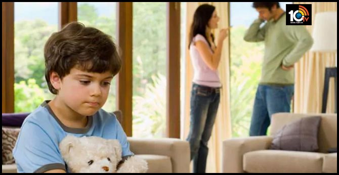 Divorce and conversational difficulties with father affect child's future health