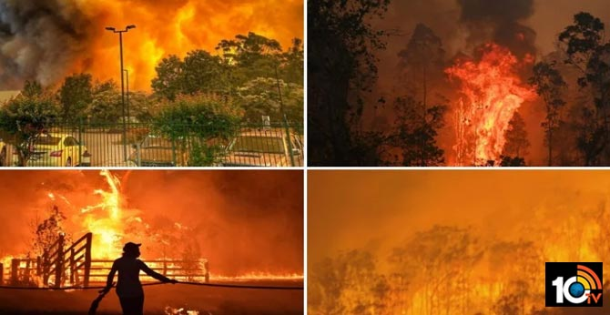 Do children's games cause anxiety in Australia bushfire ?