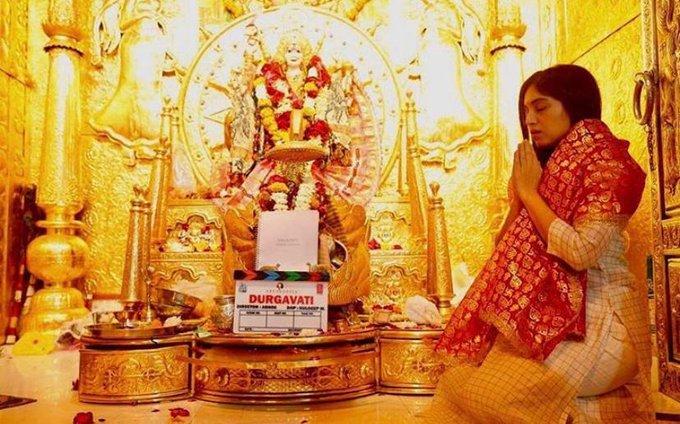 Bhumi Pednekar in and as Durgavati