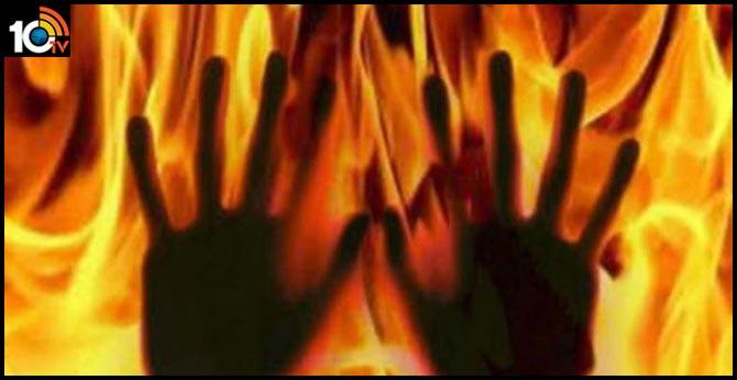 Girls Catches Fire In Srikakulam Dist