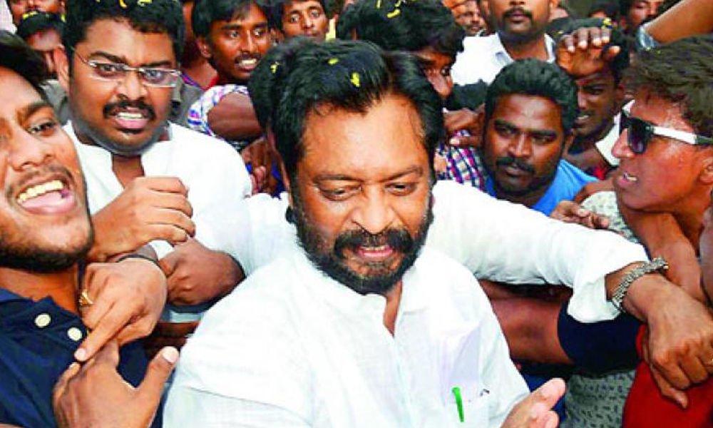 Ex G.V. Harsha Kumar Released from Jail