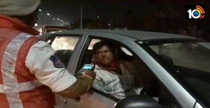 Heavy Drunk and Drive Cases in Telangana