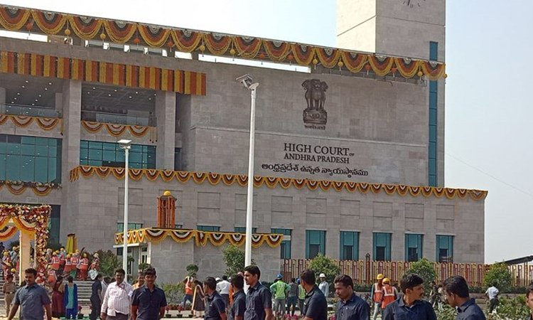 High Court of Andhra Pradesh hearing on evacuation of govt offices