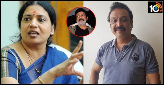 Jeevitha Raja Sekhar Complaints on V K Naresh