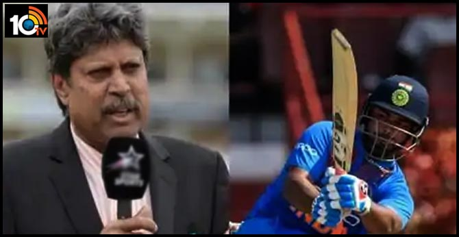Kapil Dev has his say on Rishabh Pant being benched