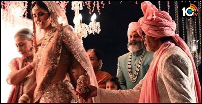 Three Superstars At Katrina Kaif's wedding