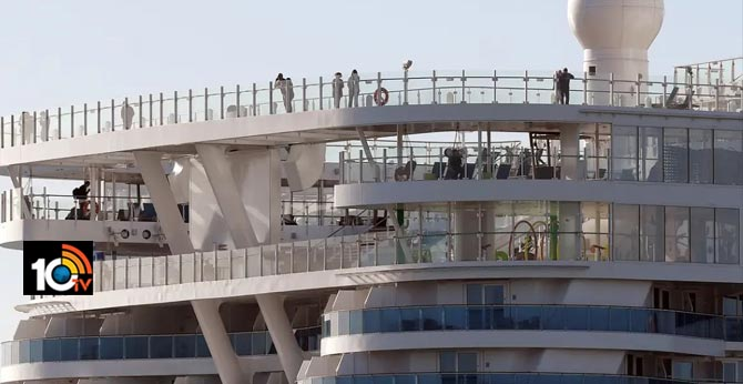 More than 6,000 people are trapped on a cruise ship
