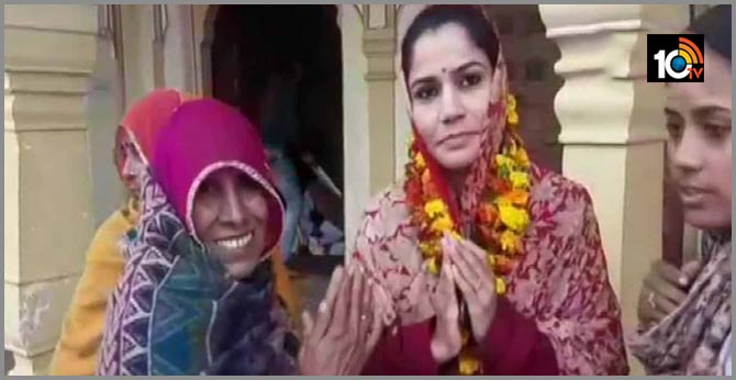 Tonk: Neeta Sodha, an immigrant from Pakistan who was recently given Indian citizenship is contesting panchayat elections in Natwara, says