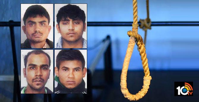 Nirbhaya convicts Hanging Trial
