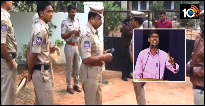 OU professor demanded stops of policemen in Kashim residence..Students Arrested