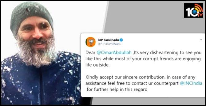 Omar Abdullah's Viral Photo, BJP 'Gifts' Him Razor