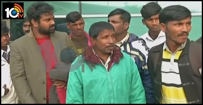 Pakistan released Uttarandra fishermen, they arrived to Delhi